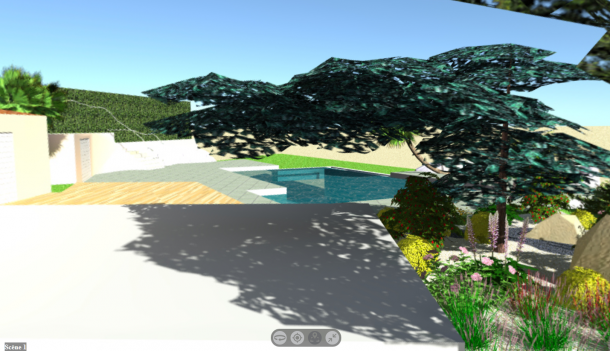 Vue 360 - Projet d'aménagement