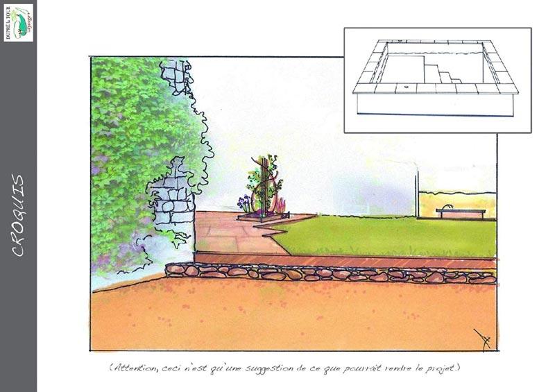 Etude pour jardin