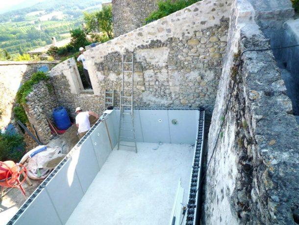 piscine bassin mirmande 26