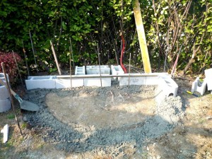 Installation d'une fontaine à Loriol-sur-Drome