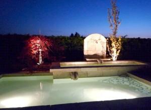 Eclairage de bassin