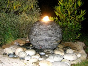Eclairage de fontaine