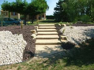 Escalier bois et balthazar