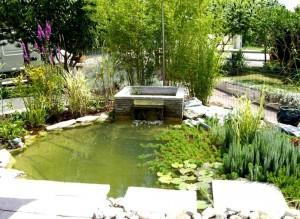 Bassin et fontaine - Loriol-sur-Drome