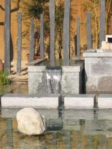 Fontaine en pierre