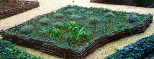 Jardin classique - carré de plantation - Livron