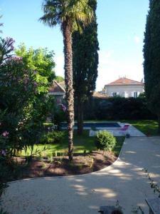 Jardin classique - jardin et piscine - Création