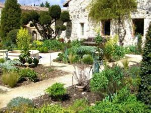Jardin médiéval - Livron-sur-Drome