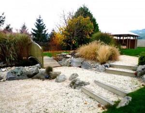 Jardin de style dupr la tour paysage 22 ans d 39 exp rience for Jardin zen drome